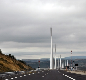 An amazing feat of Engineering, the Millau Viaduct, France