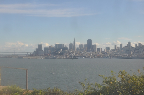 View through alcatraz window