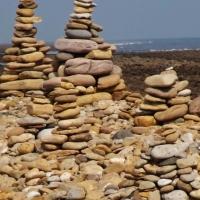 Lindisfarne cairns