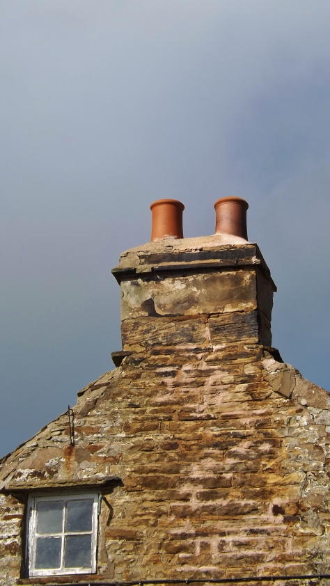 Chimney with a view.
