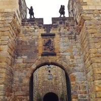 Hogwarts front door.