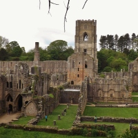 Fountains Abbey,North Yorkshire.